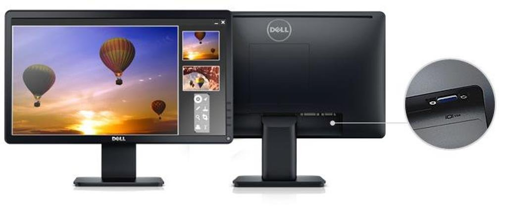 Dell E1914H  19-Inch Screen LED-Lit Monitor by Dell