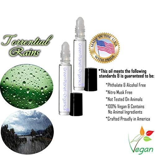 (Set of 2: Torrential Rains Perfume (Made in USA & Vegan))