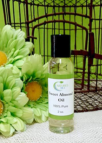 - Sweet Almond Oil 2 oz.