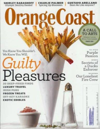 Orange Coast - October 2008: Guilty Pleasures in OC! (Single Issue Magazine)