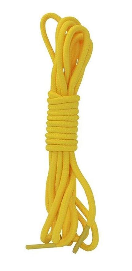 Zapatillas amarillas deportivas de cordón 2 pares