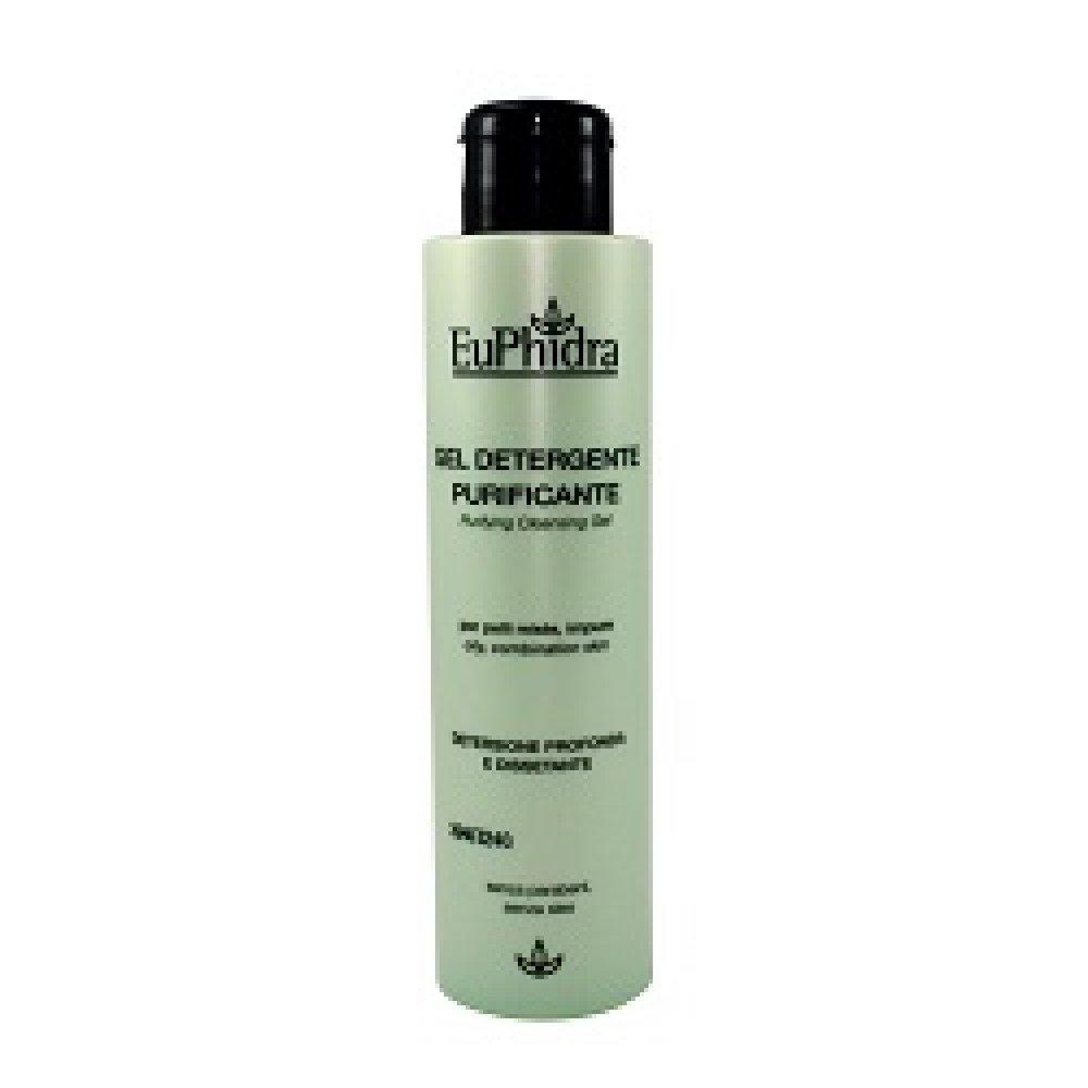 Euphidra Gel Detergente Purificante per pelli miste e impure - 150 ml Zeta farmaceutici spa