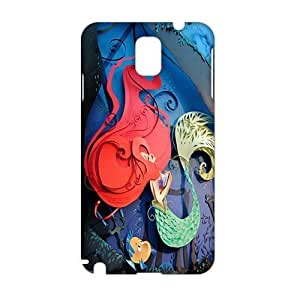 3D Case Cover Cartoon Mermaid Phone Case for Samsung Galaxy Note3