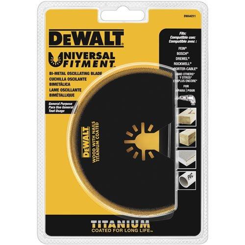 DEWALT Dwa4211 Oscillating Titanium Semicircle