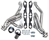 Hedman Hedders 69016 Standard Duty HTC Coated Headers Tube Size 1.625 in. Collector Size 3 in. Mid Length Tube Incl. Headers/Gaskets/3 Bolt Adapter/Mtg. Hardware Polished Ceramic Metallic Standard Duty HTC Coated Headers