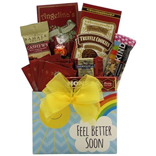 GreatArrivals Feel Better Soon Get Well Gift Basket
