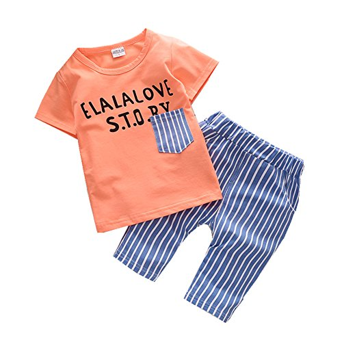 ftsucq-little-boys-letter-shirt-with-striped-middle-pants-two-pieces-shorts-setsorange-100