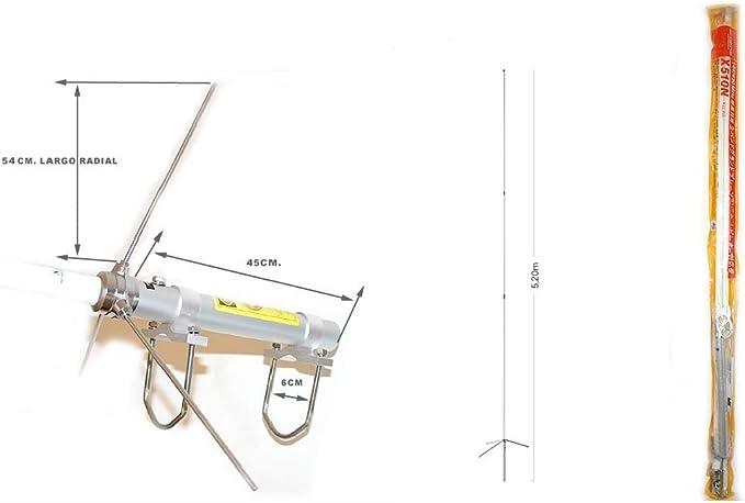 DIAMOND X-510N Antena BIBANDA DE Base 144-430 MHz