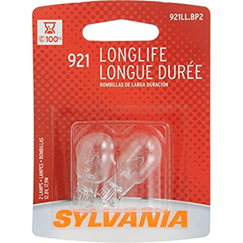 SYLVANIA 921 Long Life Miniature Bulb (Contains 2 Bulbs) - 1998 Chevrolet Camaro Brake