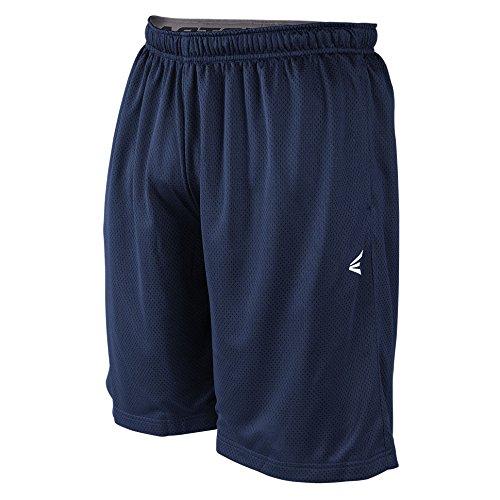 Easton Boys M5 Mesh Shorts, Navy, Large Easton Baseball Shorts