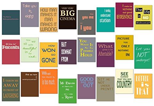 Postkarten Set / Karten Set - 24 Stück - Nr 2 -