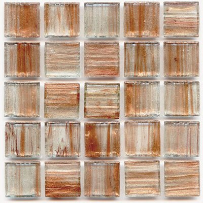 Hakatai Mosaic 3//4 Glass Tile P 13 Honey 1 lb bag