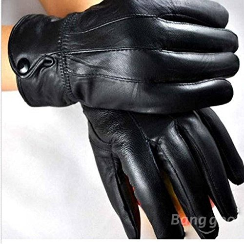 Pink Lizard Men Ladies Motorcycle Winter Riding Leather Gloves For M
