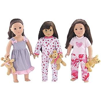 d875de6601 Amazon.com  18-inch Doll Clothes