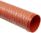 Heat-Flex GS Fiberglass Duct Hose, Iron Oxide Red, 2.5'' ID, 12' Length