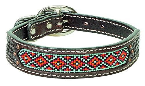 (Weaver Pet Beaded Basket Weave Dog Collar )
