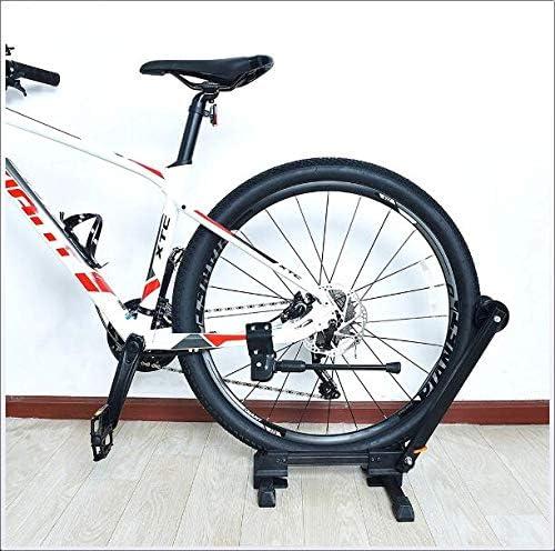 アウトドア乗馬、ホームガレージ屋内保管に適しマウンテンバイクの駐車ラック、アルミ自転車フレーム修理サポート、持ち運びが容易で、
