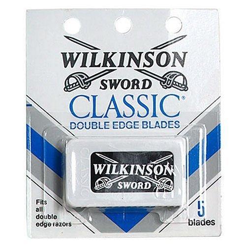 Wilkinson Sword Double Edge single Razor Cartridge, 30 blades (Wilkinson Sword Classic Double Edge Razor Blades)