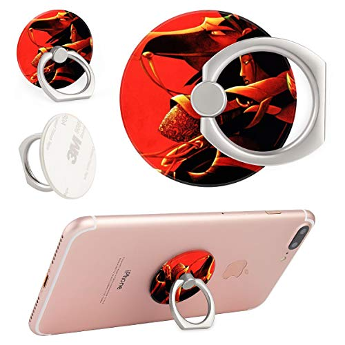 DISNEY COLLECTION Phone Ring Stand Round Disney Honor Mulan (Mulan Please Bring Honor To Us All)