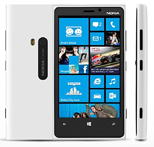 Nokia Lumia 920 RM-820 32GB GSM 4G LTE Windows 8 OS Smartphone - White - AT&T - No Warranty