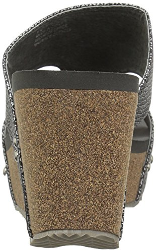 Wedge Women's Sandal Pewter Cassia Volatile YxwZp0qEa