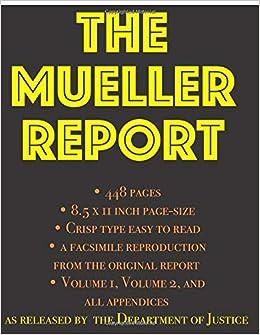 mueller report download volume 2