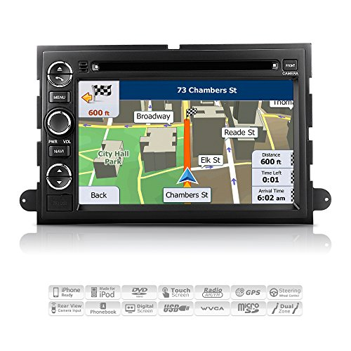 Aimtom Ford F  F  Expedition Explorer Mustang Sport Trac Lincoln Mercury Indash Gps Navigation Car Stereo  Inch Touchscreen Player Radio