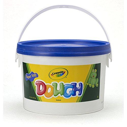 CRAYOLA LLC MODELING DOUGH 3LB BUCKET BLUE (Set of 3)
