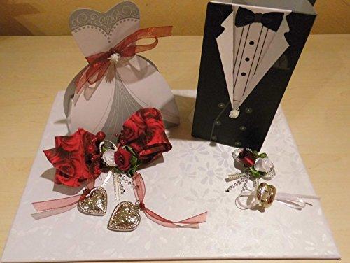Geldgeschenk Hochzeit Brautpaar Verpackung Amazonde Handmade