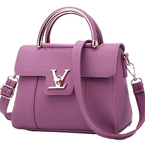 Deep Messenger Women's Handbags Fashion Diagonal Purple Shoudler Black Small Bag Large Shoulder Bag Seaoeey Summer awROqTR