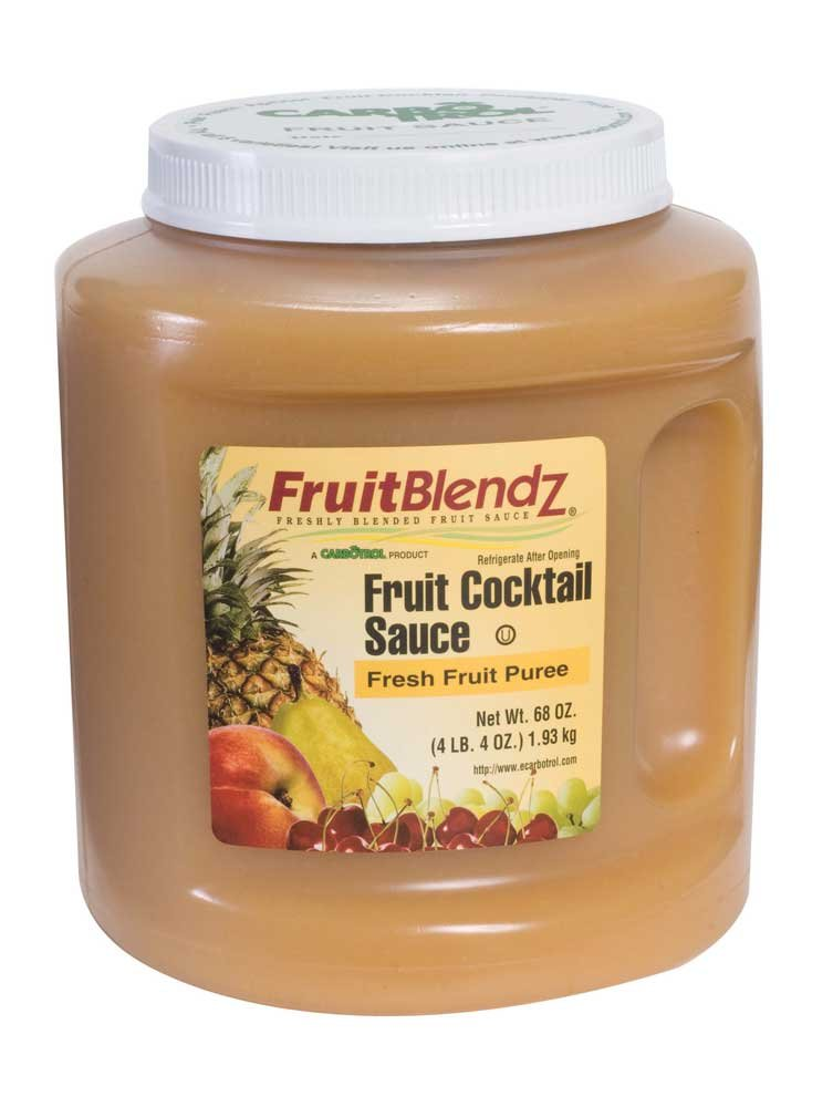Carbotrol Fruit Cocktail Sauce 6 Case 68 Ounce by Leahy IFP