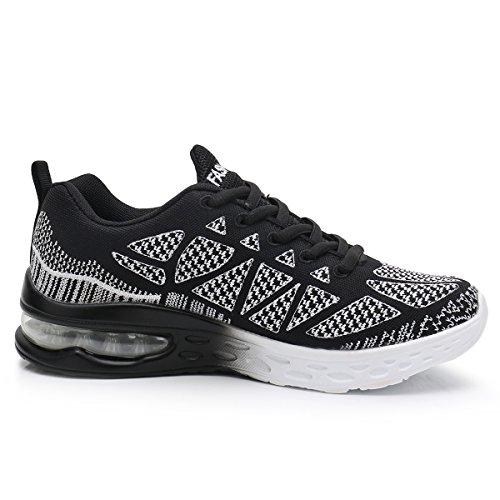 Womens Jogging Fashion Shoes Workout MEHOTO Black Sneakers Air Walking Running Fitness Sport Gym dgS55qzxnw