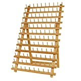 Arts & Crafts : US Art Supply Premium Beechwood 120-Spool Sewing and Embroidery Thread Rack