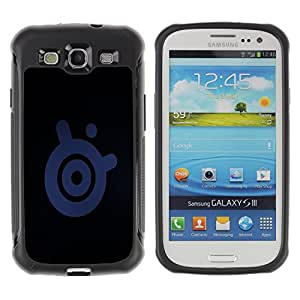CAZZ Rugged Armor Slim Protection Case Cover Shell // Speaker Sign // Samsung Galaxy S3