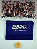 100 1/8 Standard Hex-Nut Cleco Fasteners w/ HBHT Tool & Carry Bag (KHN1S100-1/8)