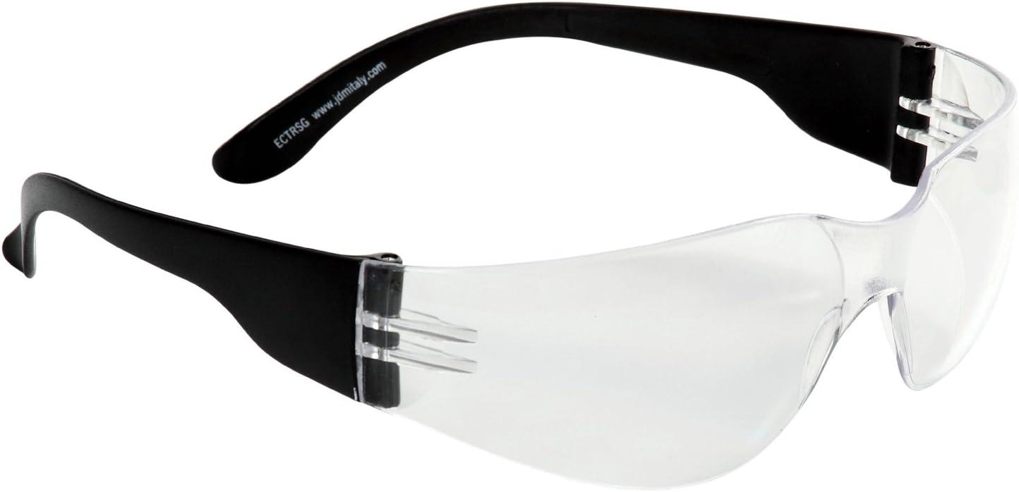 Eagle Industry - Gafas de protección laboral con lentes de policarbonato transparente