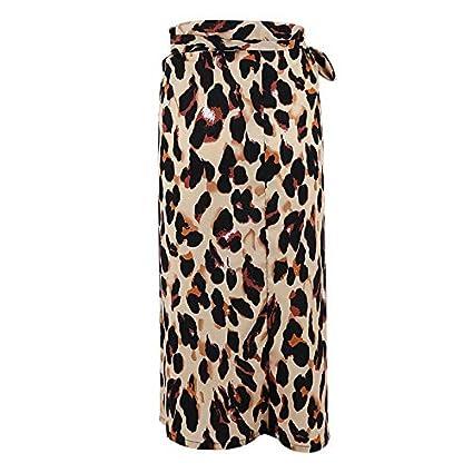 STWQSJL Moda Verano Mujer Vendaje Leopardo Traje de baño Bikini ...