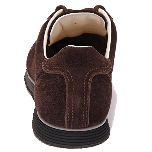 1103Q sneaker uomo SANTONI scarpa marrone shoe men Marrone