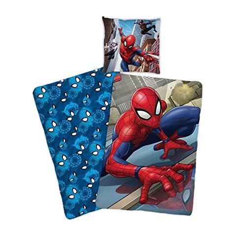Spiderman - Juego de Cama Individual (Funda de edredón ...