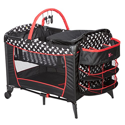 Disney Sweet Wonder Play Yard, Mickey Silhouette