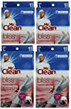 Mr. Clean Bliss Premium Latex-Free Gloves, Large, 4 pairs
