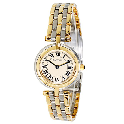Cartier Panthere VLC 30420 Ladies Watch in 18K Gold/ Steel (Certified Pre-owned)