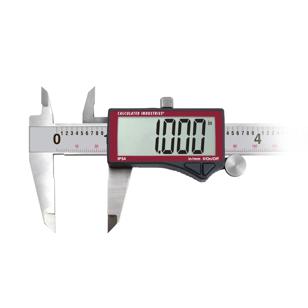 Calculated Industries 7418 AccuMASTER Electronic Digital Vernier Caliper | Metric/SAE Inch to Millimeter Conversion | Tool Measures 0-6 Inches/150mm | Stainless Steel | Largest Display Digits |IP54 by Calculated Industries (Image #11)