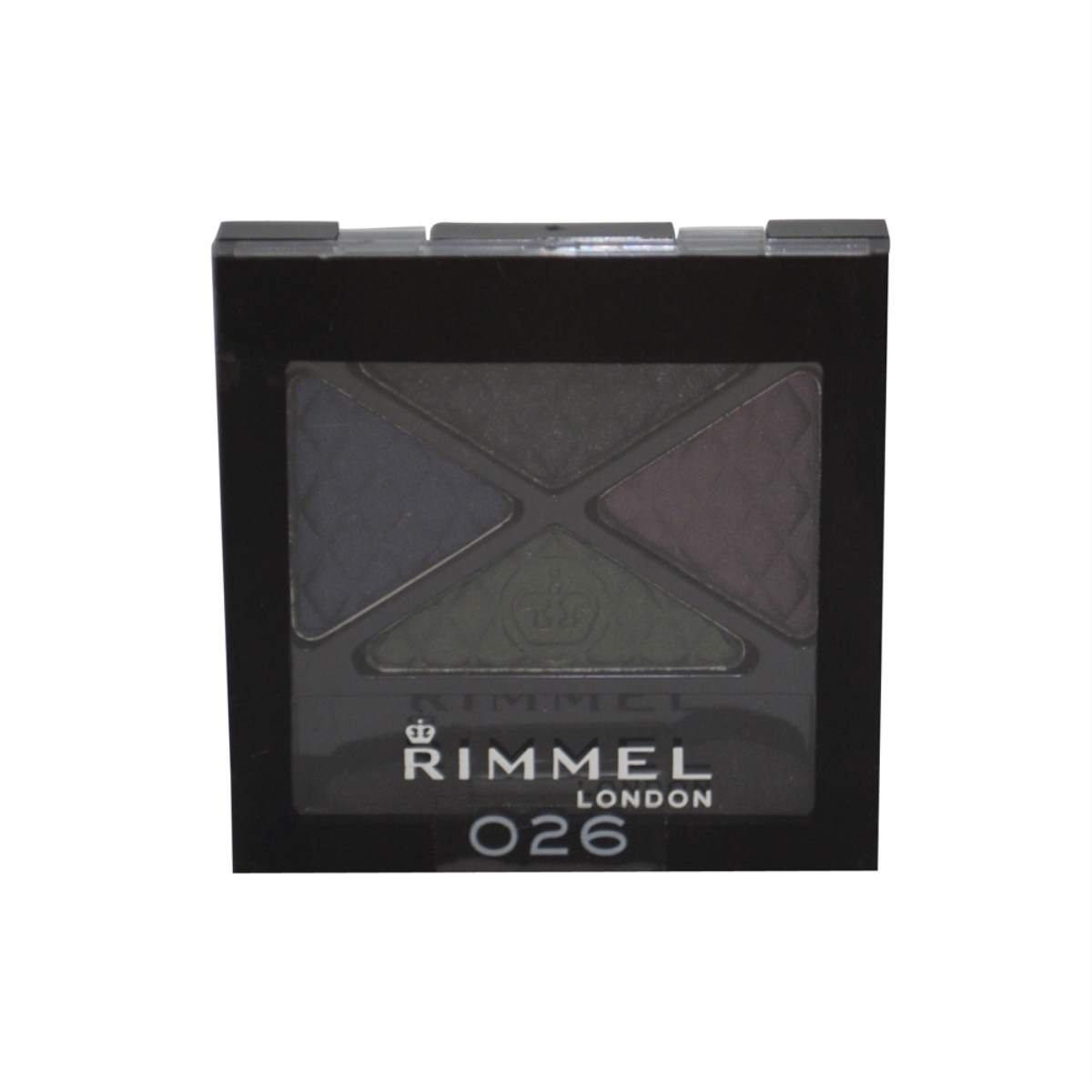 Rimmel Glam' Eyes Quad Eye Shadow, Precious Crown, .14 oz