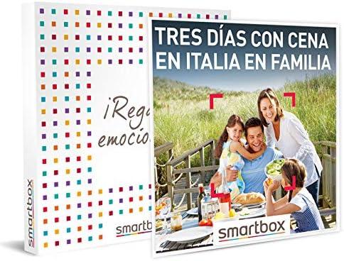 smartbox 3 dias con cena en italia en familia