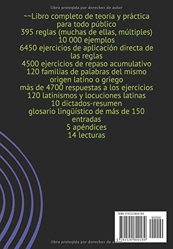 ORTOGRAFÍA DEL ESPAÑOL: Reglas, ejemplos, ejercicios, repaso acumulativo, lecturas (Spanish Edition): Peter Ujfalussy: 9781520800189: Amazon.com: Books