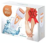 Callus Remover: Best Pedicure Tools by Own Harmony - Powerful Rechargeable Electric Shaver and Foot File CR900-3 Rollers - Professional Spa Electronic Micro Pedi Feet Care