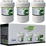 GE MWF SmartWater Compatible Refrigerator Water Filter 3 pack