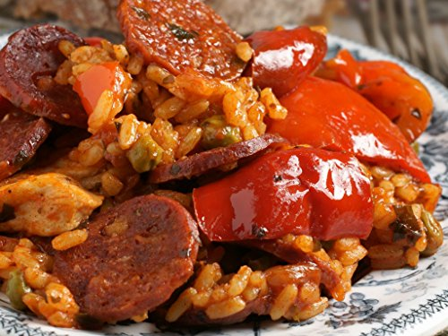 Spanish Paella with Chorizo & Artichokes Meal Kit by Takeout Kit (Dinner for - To Usps Shipping Spain