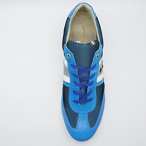 Herren Ascoli Low Blau d'Oro Sneaker Funky Pantofola XL Übergrößen 5XqOygyw